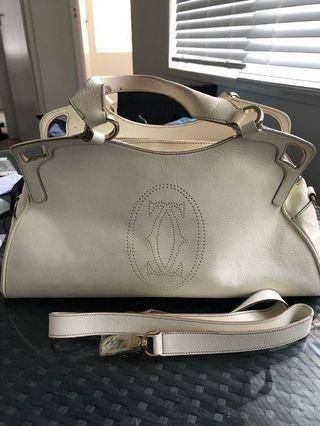 """Cartier """"Marcelo"""" leather bag"""