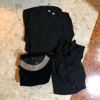 🚚 Black Dresses
