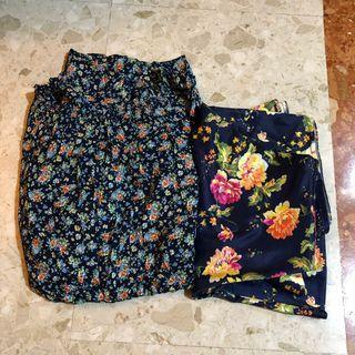 🚚 Off Shoulder Flower Dress