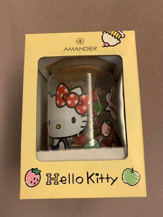 Hello kitty jar and sweets