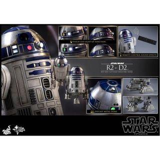 Hot Toys Star Wars R2-D2 1/6 scale figure (The Force Awakens)