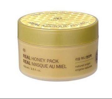 The Face Shop Real Honey Pack Mask