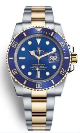 WTB Rolex Submariner 116613LB Sunburst