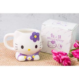 台中市區可面交👌  北海道限定 銀の鐘 Hello kitty 造型馬克杯