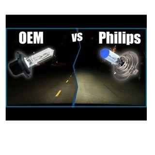 Change your headlight color now! Cheapest Philips Crystal Vision bulb! Installation is avaliable if required!