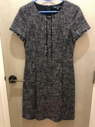 Brooks Brothers one piece dress - Blue and White