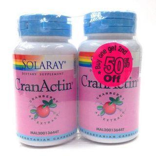 Solaray CranActin Capsules