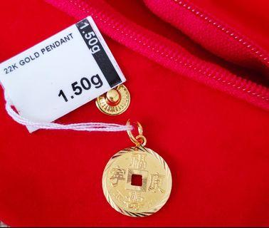 Refurbished Gold Pendant 916(22k) / 1.50g