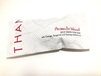 Thann Aromatic Wood Rice grain soap bar 肥皂
