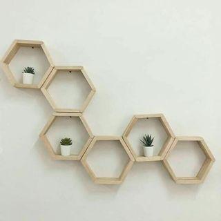 Hexagon Wall Deco