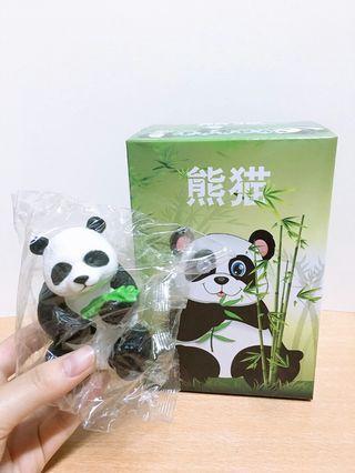 🚚 熊貓村日常生活🐼擺件公仔
