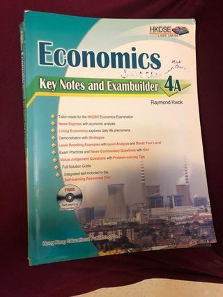 Economics 4A + 4B Notes and explanation