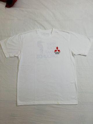 🚚 Ngu 古著 MITSUBISHI MOTORS 素白T恤