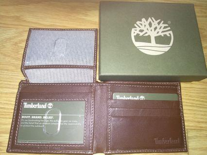 Authentic Genuine Leather Timberland Wallet