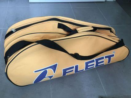 Badminton Bag Fleet 3 compartments can fit 5racquets