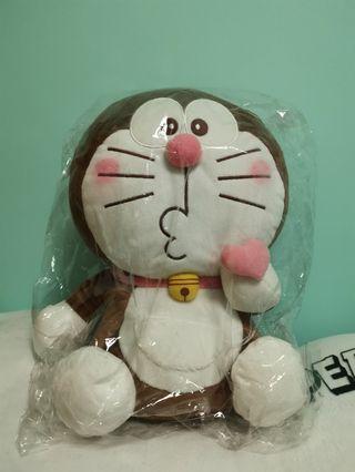Doraemon 朱古力色多啦a夢公仔