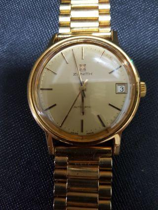 🚚 瑞士原裝真力時包金手錶