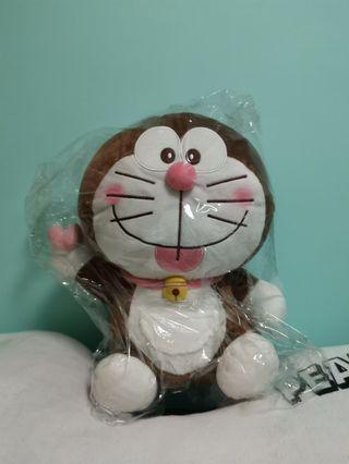 Doraemon 朱古力色多啦a夢公仔。。