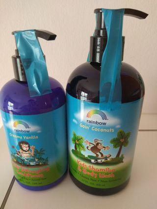 🚚 Rainbow shampoo and conditional
