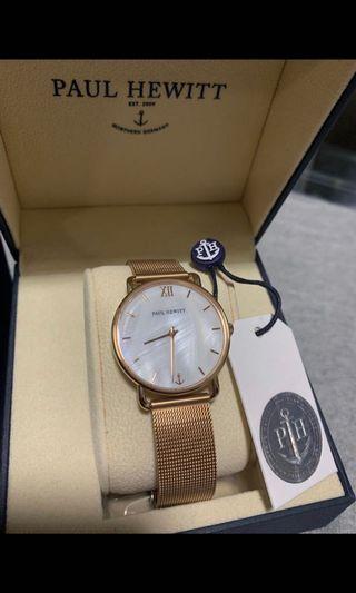 Paul Hewitt手錶 (全新) $890