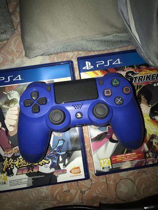 PS4 手制 藍色