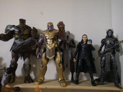 Marvel Legends thanos set