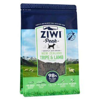 Ziwipeak Tripe & Lamb Air Dried Dog Food - 2.5kg