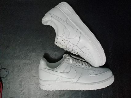 info for f8b8e 9c8da Nike Airforce 1 Low, All White
