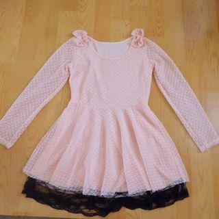 Peach Dress #maujam