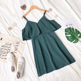 BN Korean cold shoulder dress