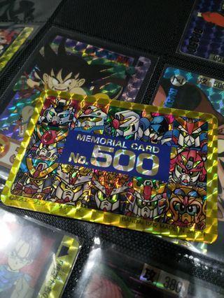 Sd 高達 bb 戰士 500號 閃中閃 初版