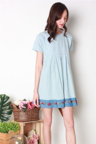 ACW Embroidery Babydoll Dress