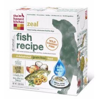 The Honest Kitchen - Zeal, All Life Stages Fish - 10lbs