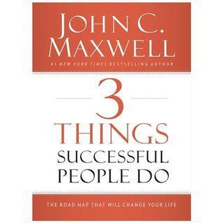 ebook 3 things successful people do