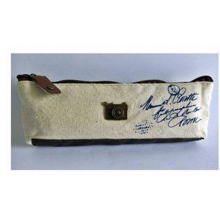 Canvas pencil case jewelry purse coin purse pouch zipper wallet