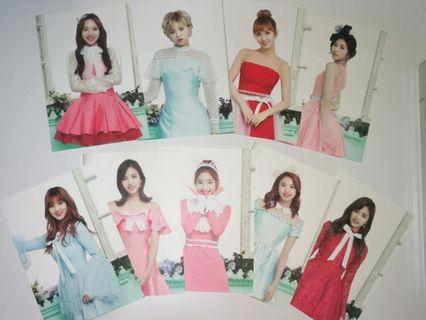 Twice Official Postcard Photocard Twiceland The Opening Photocard