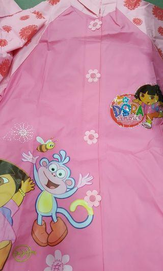 🚚 Girls' Raincoat Dora The Explorer