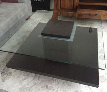 Cellini Glass Coffee Table
