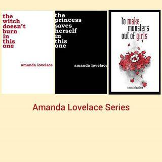 Ebook Amanda Lovelace Series Poetry (the witch doesnt burn in this one to make monters out of girls the princess saves herself)