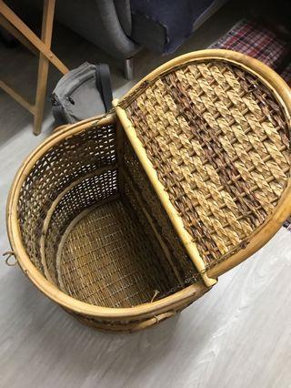 手工收納椅