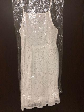 🚚 Blooms White Lace Dress