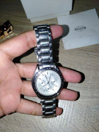 Alexander Christie Silvery Watch