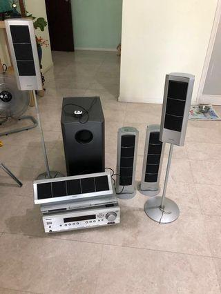 Used but not abused ONKYO Theatre Sound System for Sale