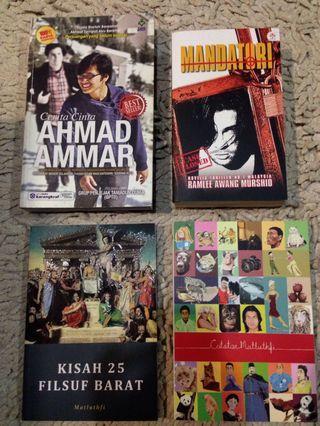 Malay Novels [ reduced. ]