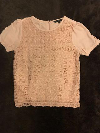 Lace Top flower