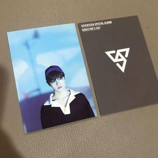 17's Dino Seventeen Album Kinho Version Photocard
