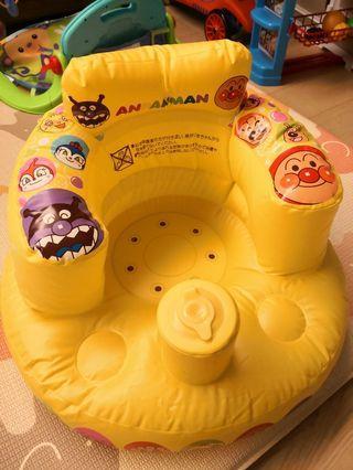 麵包超人吹氣椅(只試坐了 1次)