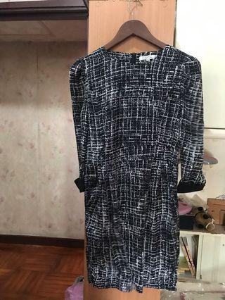 韓國全新chic lane 連身裙