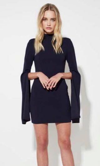 Mossman 'A Sense of Mystery' Dress NAVY