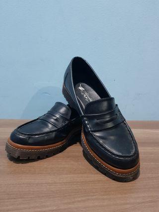 Sepatu Teplek Wanita-flatshoes (hitam)